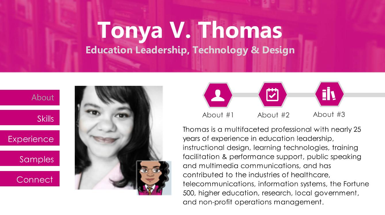 interactive resume edutechdiva online - Interactive Resume